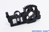 極みシリーズ・ヨコモ ドリフトパッケージ用 アルミSPLモーターマウントセット(ブラック)