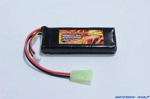 画像1: Safty Power LiFe 9.9V 900mAh 縦:31mm*横:85mm*厚み15mm (マルイミニサイズ)