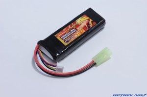 画像2: Safty Power LiFe 9.9V 900mAh 縦:31mm*横:85mm*厚み15mm (マルイミニサイズ)