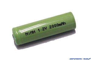 画像1: NO-122000-2/ダッシュパワーNiMH 1.2V 2000mAh 単3型ニッケル水素バッテリー2本セット