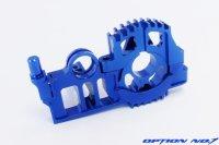 極みシリーズ・ヨコモ ドリフトパッケージ用 アルミSPLモーターマウントセット(ブルー)