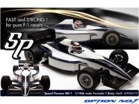SpeedPassion(スピードパッション)  MK-1 F-1 ボディ(クリヤ/1:10スケール)