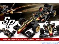SpeedPassion(スピードパッション)  F-68 F-1 ボディー (クリヤ/1:10スケール)